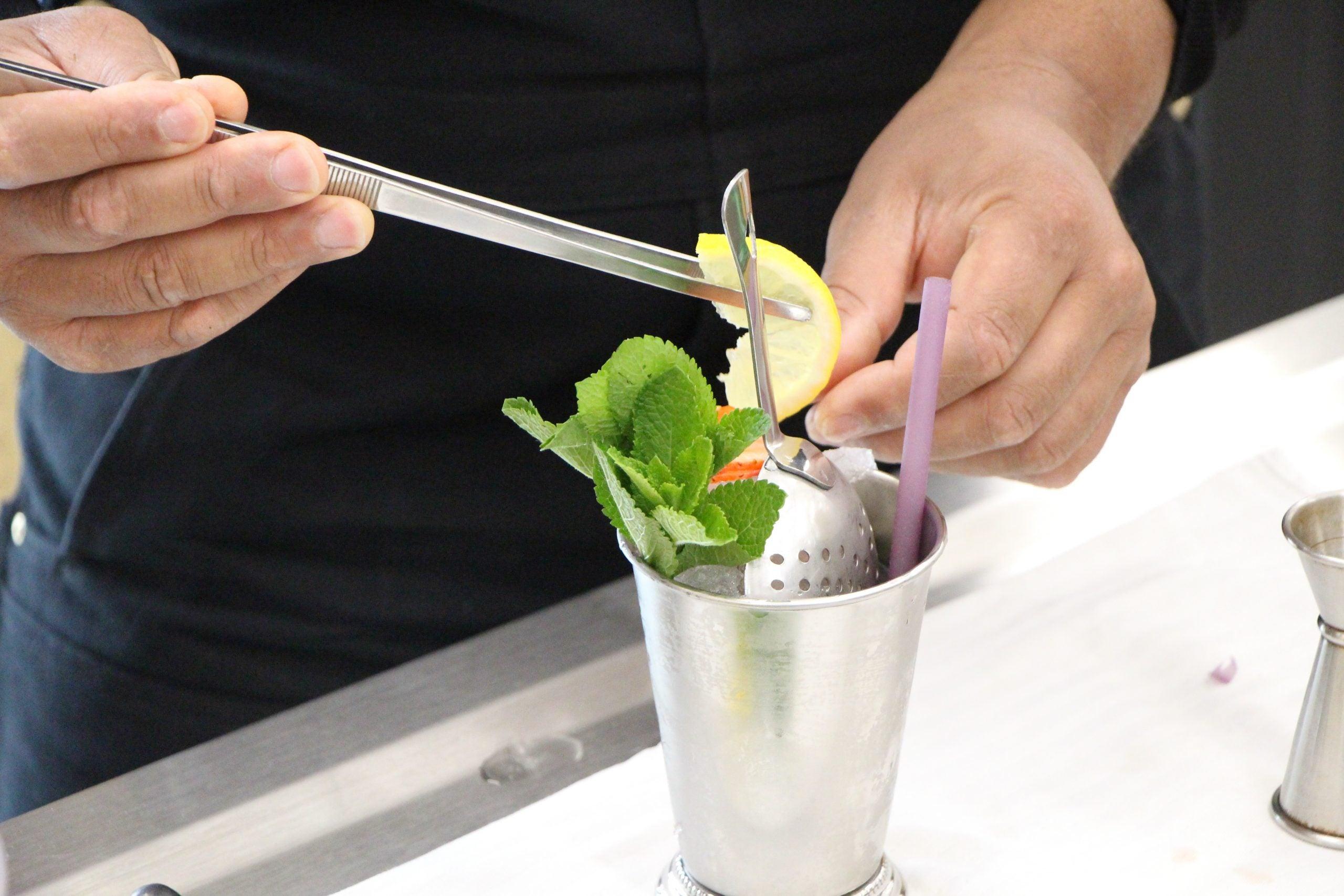 Recette de cocktail avec alcool : JAUNE LEMON
